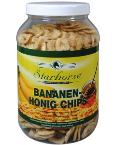 Bananen Honig Chips www.starhorse.at