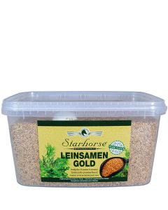 Leinsamen Gold www.starhorse.at