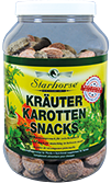 kräuter karotten snacks starhorse